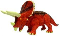 ADC Blackfire Mighty Megasaur Triceratops se světly a zvuky 20 cm