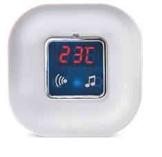 Solight Vezetéknélküli ajtócsengő hőmérővel, 120m, fehér