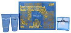 Versace Eau Fraiche Man - EDT 50 ml + gel za tuširanje 50 ml + losion poslije brijanja 50 ml