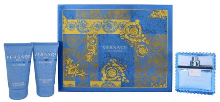 Versace Eau Fraiche Man - EDT 50 ml + gel za prhanje 50 ml + balzam po britju 50 ml