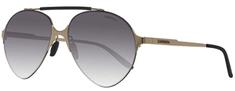 CARRERA okulary przeciwsłoneczne męskie złote