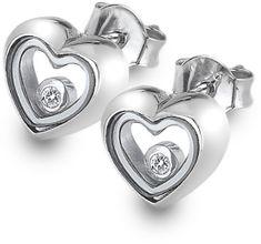 Hot Diamonds Strieborné náušnice Anais AE013 striebro 925/1000