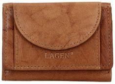 Lagen Bőr pénztárca W-2030 Cognac