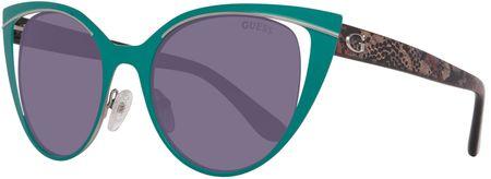 Guess dámské zelené sluneční brýle