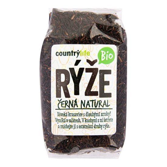 Country Life Ryža čierna natural BIO 500 g