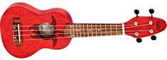 Ortega K1-RD Akustické ukulele
