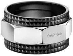 Calvin Klein Pánsky oceľový prsteň High KJ4JBR2001