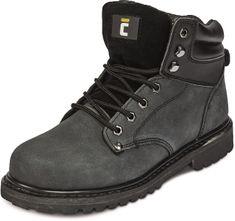 Cerva Kožená kotníková obuv Farmer O1 černá 44