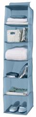 Compactor wiszący organizer na ubrania Peva, 30 x 30 x 128 cm, 6 półek