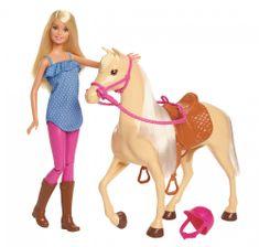 Mattel Barbie baba lóval