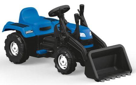 DOLU traktor dla dzieci Ranchero z ładowarką - niebieski