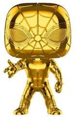 Funko POP Marvel MS 10 Iron Spider (Chrome)