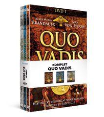 Komplet Quo vadis (3DVD) - DVD