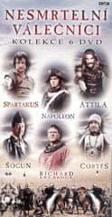Nesmrtelní válečníci: kolekce (6 DVD) - DVD