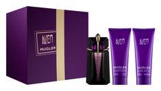 Thierry Mugler Alien - EDP 60 ml (plnitelná) + tělové mléko 100 ml + sprchový krém 100 ml