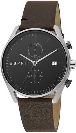 Esprit Lock Chrono Black Brown ES1G098L0015