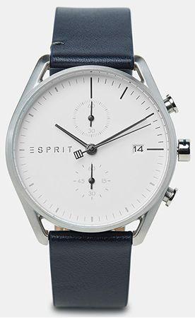 Esprit Lock Chrono Silver Blue ES1G098L0025