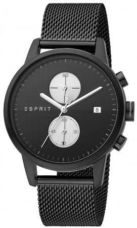 Esprit Linear Black Mesh ES1G110M0085
