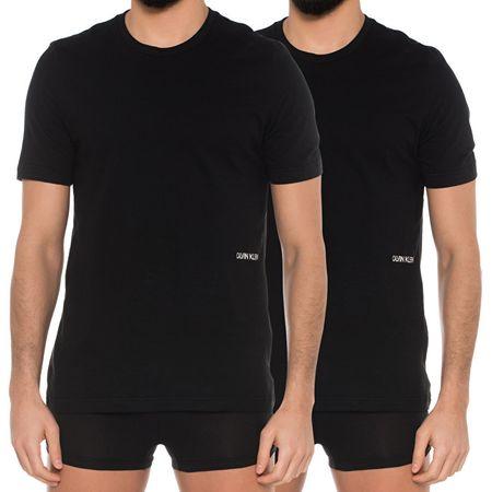 Calvin Klein Férfi póló szettS/S Crew Neck 2pc Black (méret M)
