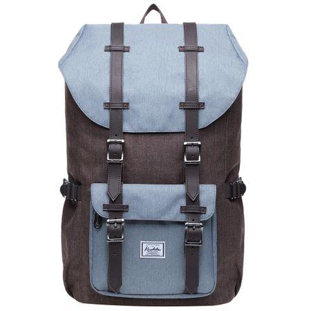 Kaukko ruksak Hipster Bear, smeđa/plava