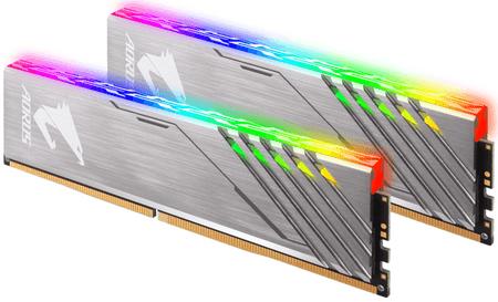 Gigabyte pomnilnik (RAM) AORUS DDR4 16GB (2x8GB), 3200MHz, RGB (GIGDS-AR32C16S8K2HU)
