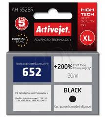 ActiveJet tinta HP 652 F6V25AE, crna