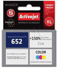 ActiveJet črnilo HP 652 F6V24AE, barvno