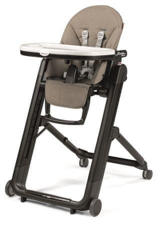 PEG PEREGO krzesełko do karmienia Siesta Follow Me Ginger Grey 2019