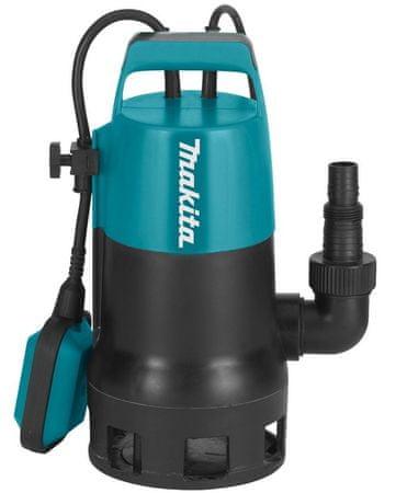 Makita potopna črpalka za umazano vodo PF0410, 140L/min