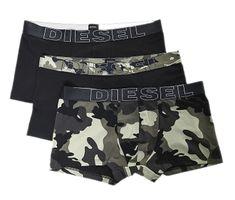 Diesel Boxeralsó szettUMBX-Damienthreepack Boxer 3 pack 00ST3V-PAQZ-E1897