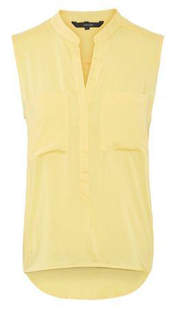 Vero Moda Női felsőErika S/L Solid Shirt Color Yarrow (méret M)