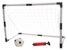 Teddies Futbalová bránka 84x54x42cm s loptičkou a pumpičkou