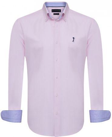 Sir Raymond Tailor férfi ing Handed M rózsaszín