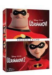 Úžasňákovi kolekce 1.+2. (2 disky) - Blu-ray