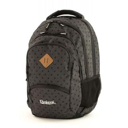 Rucksack ruksak Only Wonder 35l, Midnight Black Dots