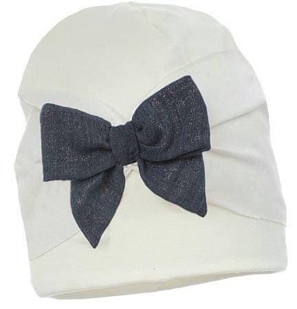 Pupill dekliška kapa Cynthia, 44 - 46, bela/modra