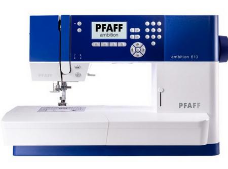 PFAFF Pfaff šivalni stroj Ambition 610