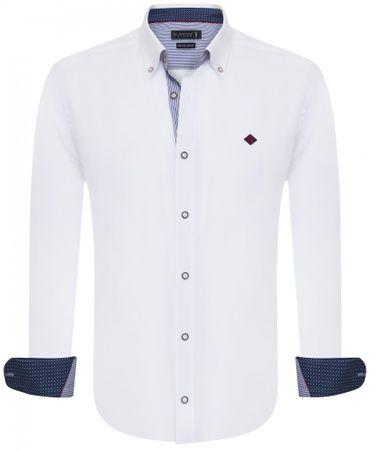 Sir Raymond Tailor pánska košeľa Wrapped L biela