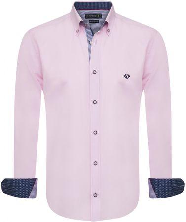 Sir Raymond Tailor pánska košeľa Wrapped XXL ružová