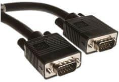 C-Tech kabel VGA, M/M, zaščiten, 1,8 m CB-VGAMM-18