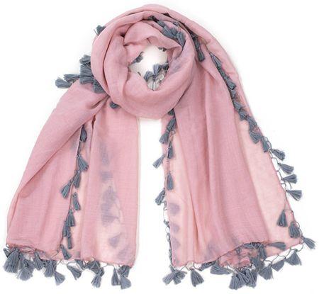 Art of Polo Damski szalik sz17254.1 Pink