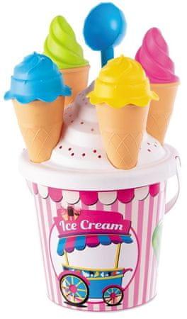 Mondo toys Homokozó készlet fagylalt