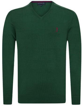 Sir Raymond Tailor moški pulover Precise, XXL, temno zelen