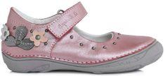 D-D-step lány balerina cipő virágcsokrokkal
