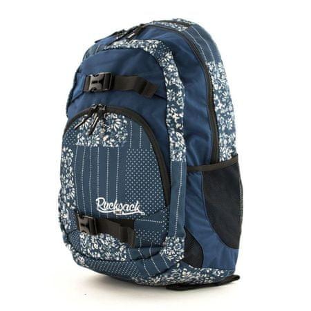 Rucksack ruksak Only dva patentna zatvarača plavi