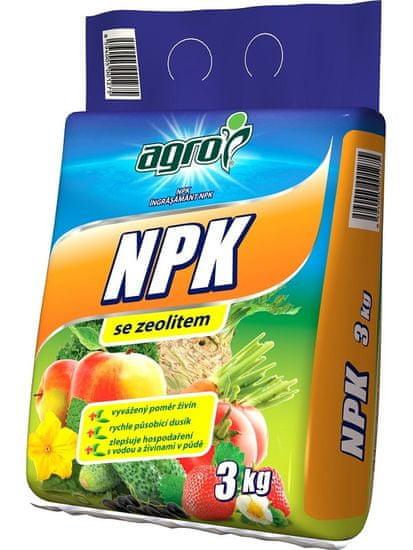 AGRO CS NPK 11-7-7 se zeolitem 3 kg