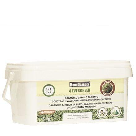 HomeOgarden organsko gnojilo za travo 4 Ever Green Mah Stop, 5 kg