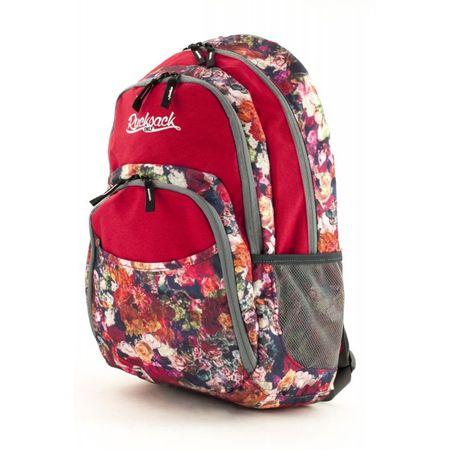 Rucksack ruksak Only tri patentna zatvarača crveni