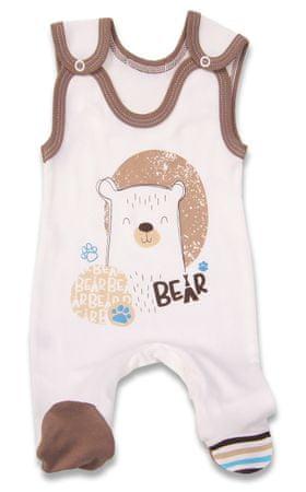 Lafel Fiú rugdalózó Bear 74 barna