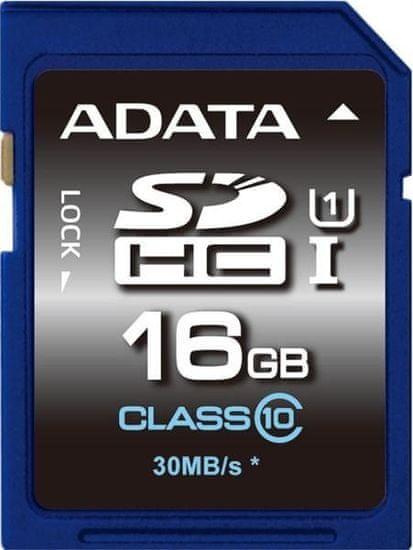 A-Data SDHC Premier 16GB UHS-I (ASDH16GUICL10-R)